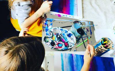 Dailės ir tapybos būrelis vaikams